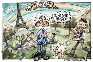 french political caricature
