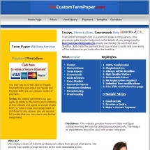 Thecustomtermpaper.com Screen