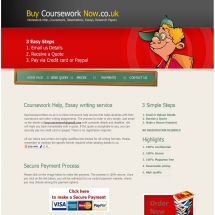 Buycourseworknow.co.uk Screen