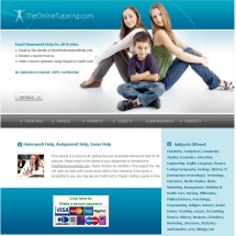 Theonlinetutoring.com Screenshot