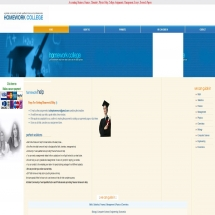 Homeworkcollege.com Screenshot