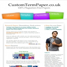 Customtermpaper.co.uk Screen