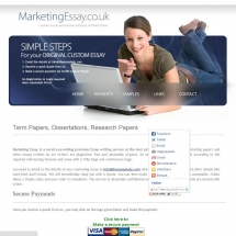 Marketingessay.co.uk Screen