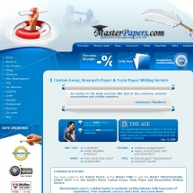 Masterpapers.com Screen