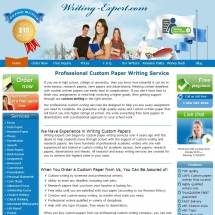 Writing-expert.com Screenshot