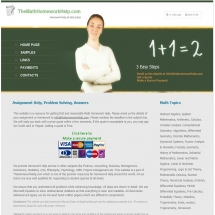 Themathhomeworkhelp.com Screenshot