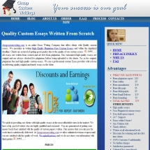 Cheapcustomwriting.com Screenshot