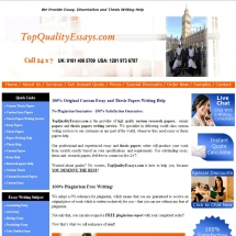 Topqualityessays.com Screen