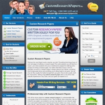 Customresearchpapers.biz Screen