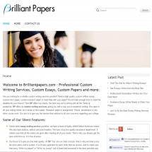 Brilliantpapers.com Screen