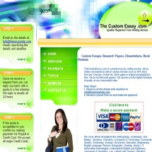 Thecustomessay.com Screenshot