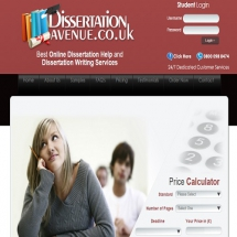 Dissertationavenue.co.uk Screenshot