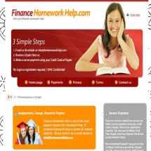 Financehomeworkhelp.com Screenshot