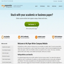 Mypaperwriter.com Screen