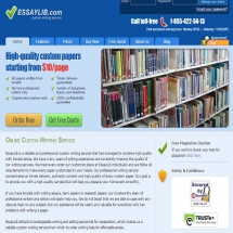Essaylib.com Screenshot