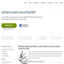 myessaywriting.com review Review of the best uk based writing companies editors' and students reviews ordered essays examples.