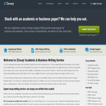 Zessay.com Screenshot