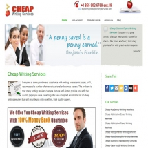 Cheapwritingservices.net Screen