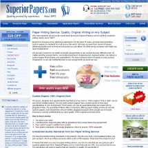 Superiorpapers.com Screen