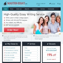 Master-essay.com Screen