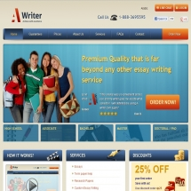 A-writer.com Screenshot