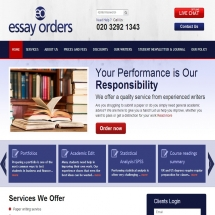 Essayorders.co.uk Screenshot